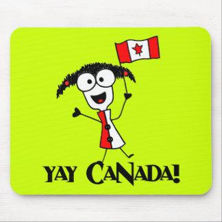 Yay Canada! Mousepad