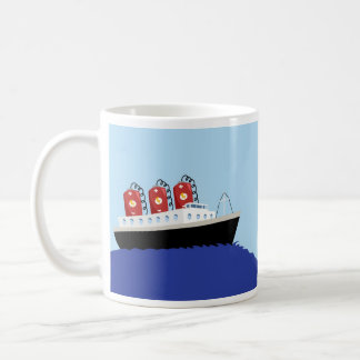 Yay For Color Battery Boat Coffee Mug