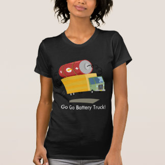 Yay For Color Battery Truck Tee Shirt