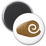 Yay For Color Chocolate Log Refrigerator Magnets