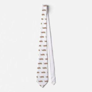 Yay For Color Five Xmas Characters Neck Tie