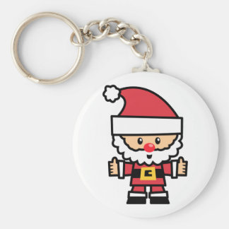 Yay For Color Xmas Character - Santa Claus Keychain