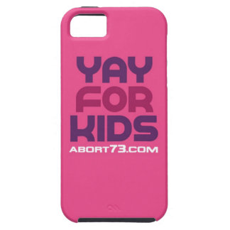 Yay for Kids / Abort73.com iPhone SE/5/5s Case