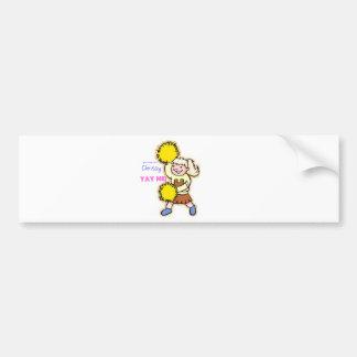 Yay Me! Cheertastic Cheerleader Bumper Stickers