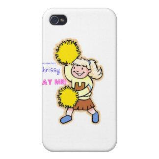 Yay Me! Cheertastic Cheerleader iPhone 4/4S Covers