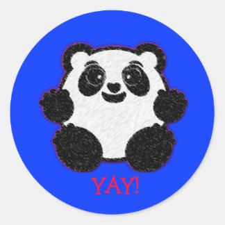 YAY! Panda Sticker
