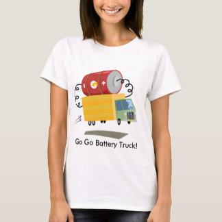 Yay para el camión de la batería del color playera