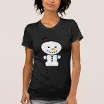 Yay para el carácter de Navidad del color - muñeco Camiseta