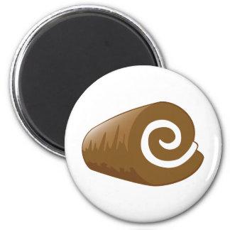 Yay para el registro del chocolate del color imán redondo 5 cm