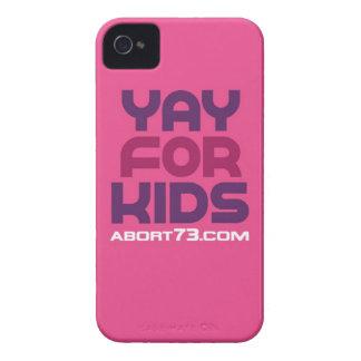 Yay para los niños/Abort73.com iPhone 4 Cobertura