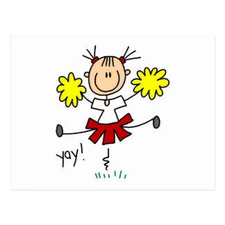 Yay Team Cheering Tshirts and Gifts Postcard
