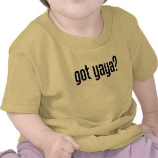 yaya conseguido camisetas