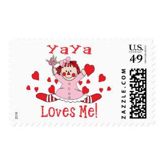 YaYa Love's me Rag Doll Stamp