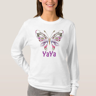 YaYa Personalized Butterfly T-Shirt