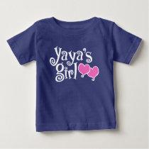 Yaya's Girl Baby T-Shirt