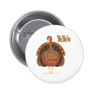 YaYa' s poca Turquía Pin Redondo De 2 Pulgadas