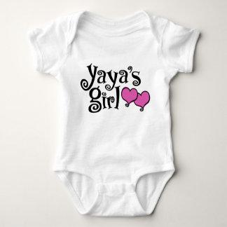 Yaya's Girl Baby Bodysuit