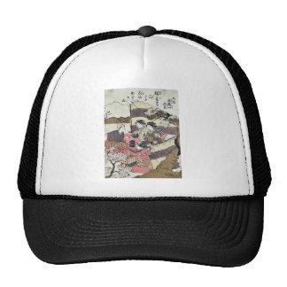 Yayoi asukayama hanami Ukiyoe Trucker Hat