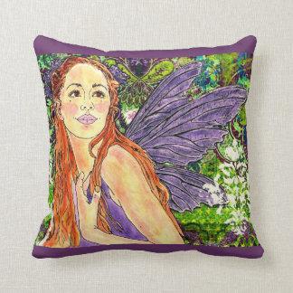 """""""Yazmeen Fairy"""" Designer Home Decor Pillow"""