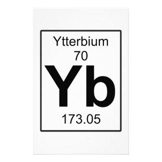 Yb - Ytterbium Stationery
