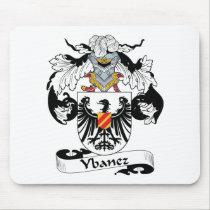 Ybanez Family Crest Mousepad