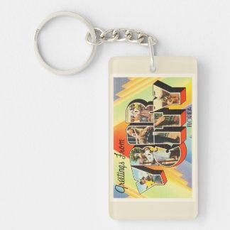 Ybor City Florida FL Old Vintage Travel Souvenir Keychain