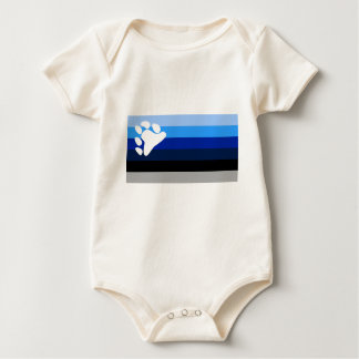 YBOR ISLA VIEQUES BLUES BABY BODYSUIT