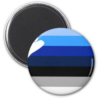 YBOR ISLA VIEQUES BLUES MAGNET