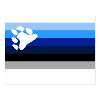 YBOR ISLA VIEQUES BLUES POSTCARD