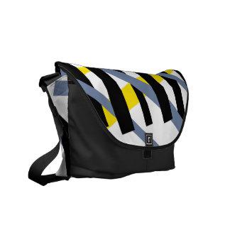 Ybpgw abstracto moderno del modelo de la raya bolsas de mensajería