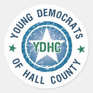 YDHC: Logo Classic Round Sticker