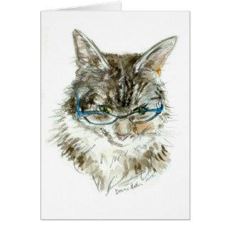 YDP Pretty Kitty orig.jpg Greeting Card