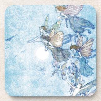 Ye Elves & Fairies Beverage Coaster