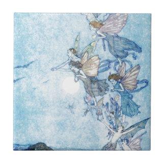 Ye Elves & Fairies Ceramic Tile