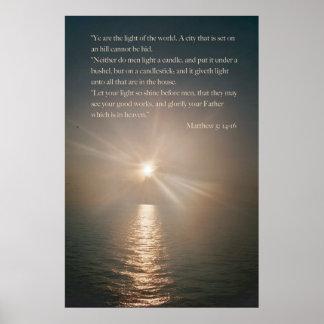 YE es la luz del mundo Poster
