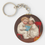 Ye Ghost Story Scares Kids Vintage Halloween Keychains