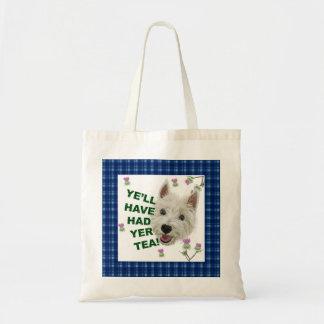 Ye'll have had yer tea budget tote bag