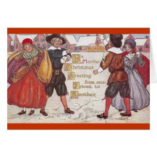 Ye Merrie Christmas Card