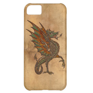Ye Old Medieval Dragon Design Cover For iPhone 5C