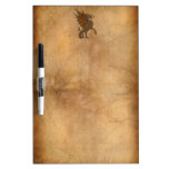 Ye Old Medieval Dragon Design Dry-Erase Boards