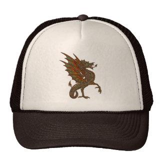 Ye Old Medieval Dragon Design Trucker Hat