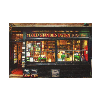 Ye Old Shambles Tavern Canvas Print
