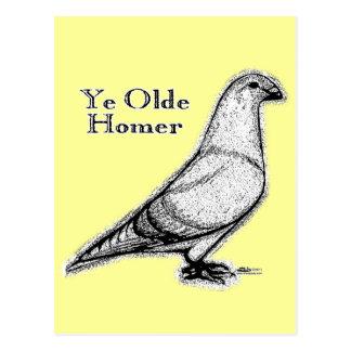 Ye Olde Homer Postcard