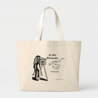 Ye Olde Photographer-Darkroom Trunk Large Tote Bag