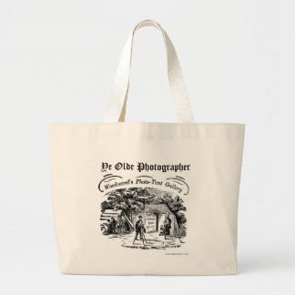 Ye Olde Photographer-Tent Gallery Large Tote Bag