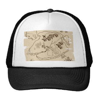 Ye Olde Pirate Treasure Map Trucker Hat