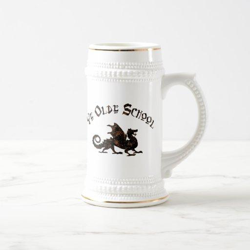 Ye Olde School Medieval Dragon Mug