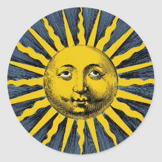 Ye Olde Sunbeam Classic Round Sticker