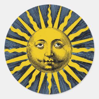 Ye Olde Sunbeam Classic Round Sticker
