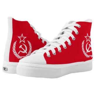 Ye Ole Commie High-Top Sneakers